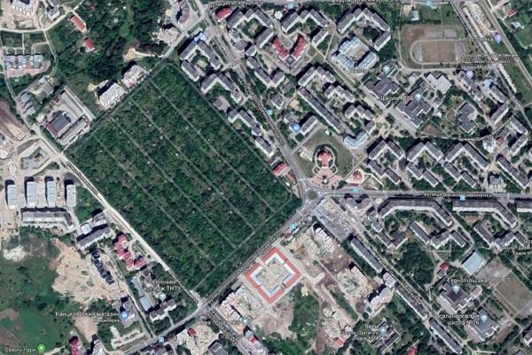 Земля розбрату: у Тернополі протестують проти нового парку