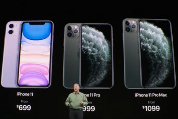 Презентовано нові iPhone 11: фото, характеристики