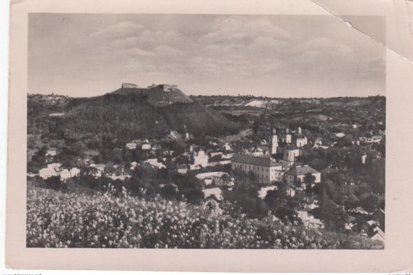 Кременець на Тернопільщині на фото 1950-х років