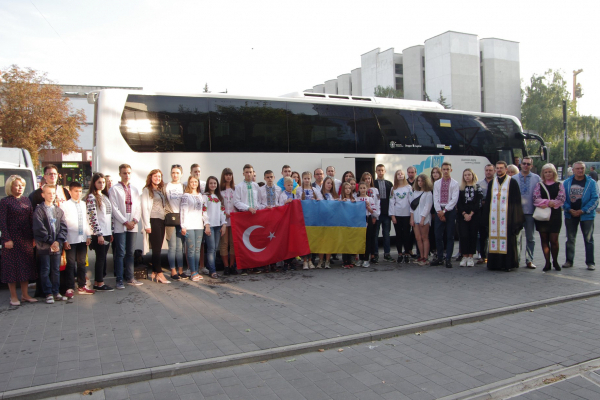 З Тернополя до Туреччини: діти АТОвців поїхали на оздоровлення
