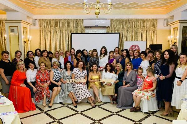 Про що говорять жінки на зустрічах ГО «Ділові Українські Жінки в Тернопільській області» та Міжнародної Амбасади Жінок-Підприємниць
