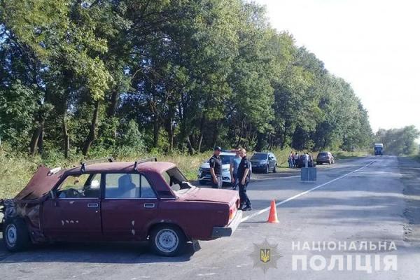У Бучацькому районі водій втік з місця аварії