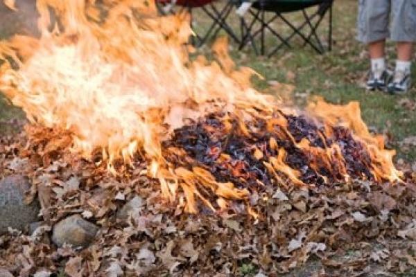Через пожежу сміття ледь не згоріла вишка мобільного зв'язку
