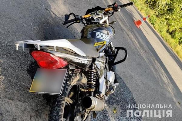 У Борщівському районі чоловік впав з мотоцикла