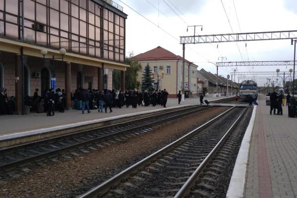 До Тернополя прибуло товариство євреїв (відео)