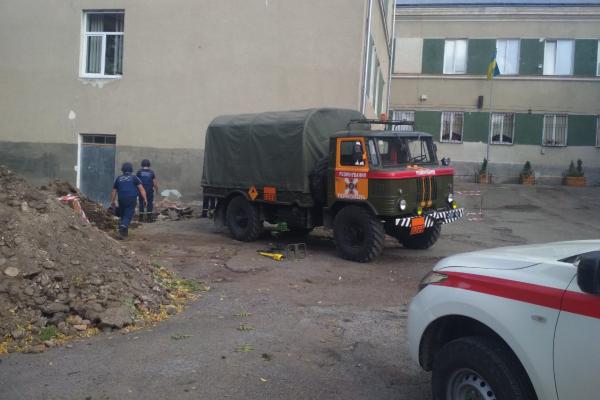У Тернополі евакуювали школу №18 через загрозу вибуху снарядів
