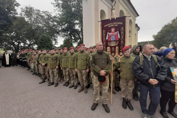 На Тернопільщині військові вирушили у паломництво