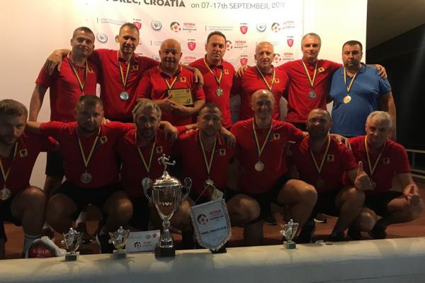 Футбольна команда з Тернопільщини перемогла на турнірі в Хорватії