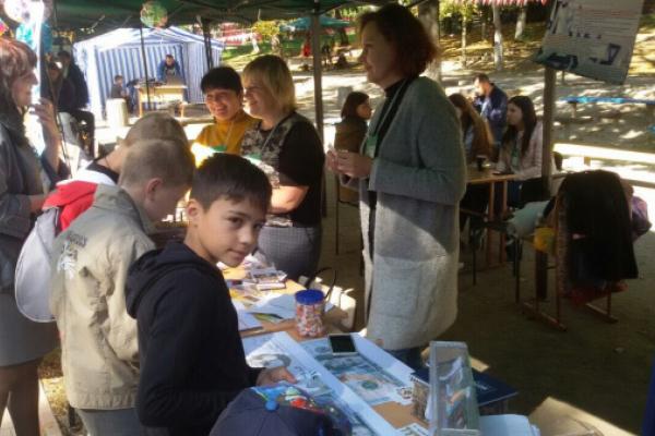 У Бучачі діти вчилися «хімічити» на пікніку (Фото)