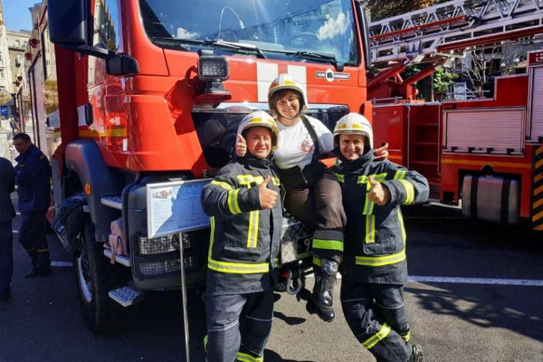 «Найсильніший пожежний-рятувальник»: тернополяни взяли участь у всеукраїнських змаганнях