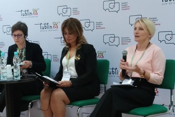 Цінності Суспільного мовлення сприяють побудові демократії - Ірина Моргун на Конгресі Ініціатив Східної Європи