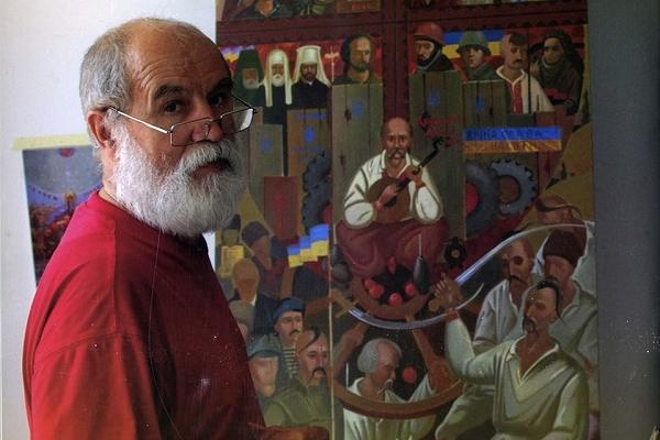 26 вересня у Бережанах відбудеться зустріч з народним художником України Богданом Ткачиком