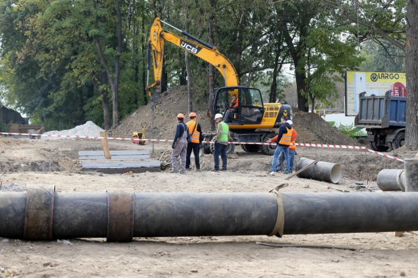 У Тернополі реконструюють мережі постачання води