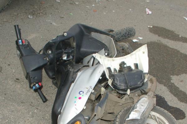 На Тернопільщині п'яний скутерист потрапив у ДТП