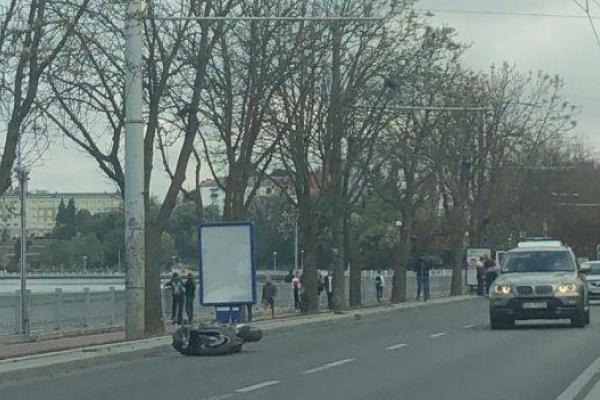 На тернопільській дамбі загинув мотоцикліст