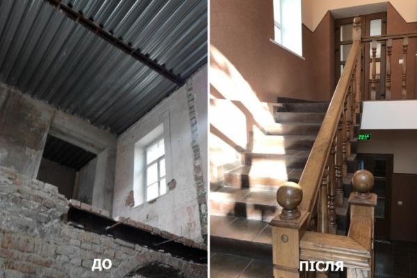 «Без сходів, поручнів та навіть даху: на Тернопільщині відновили школу мистецтв