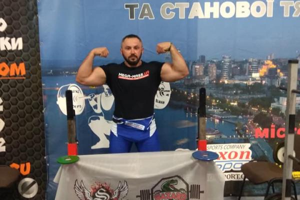 Тернопільський спортсмен  встановив новий рекорд  з паверліфтингу
