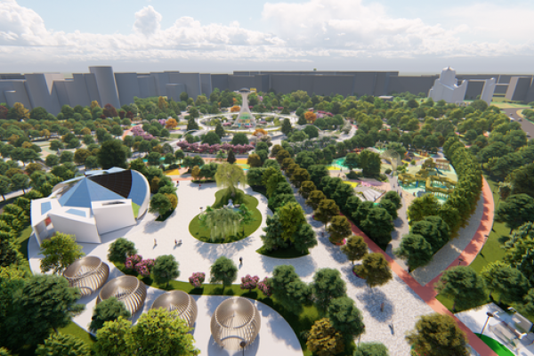 Новий парк Smart City «Ювілейний» чи депресивна територія з дачними вагончиками? (Фото)