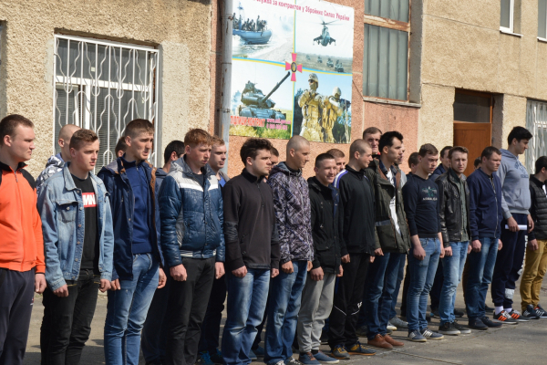 На Тернопільщині розпочався осінній призов на строкову військову службу