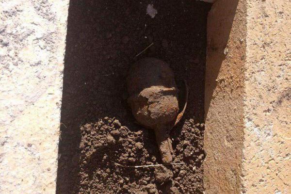 На Тернопільщині люди знайшли вибухівку на своєму городі
