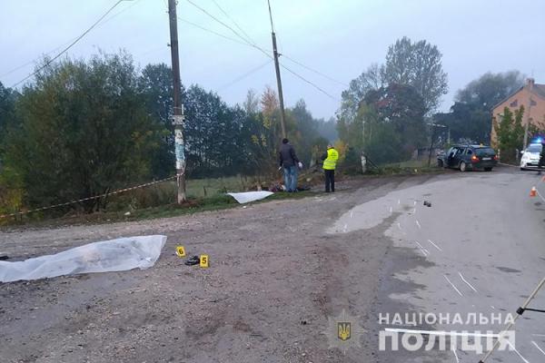 У Козівському районі під колесами іномарки загинуло двоє хлопців