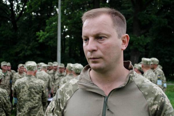 Екс-голова ТОДА Барна став військовим
