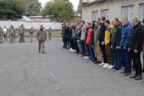 У Тернополі відправили призовників до лав Збройних Сил України