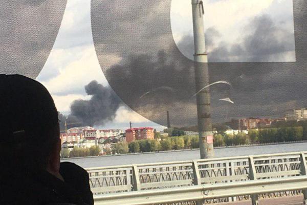 У Тернополі на Новому світі серйозна пожежа (Фото)