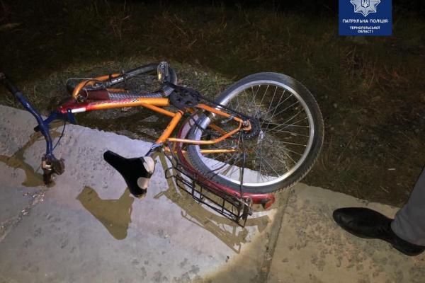 На Тернопільщині 33-річний велосипедист загинув під колесами автомобіля