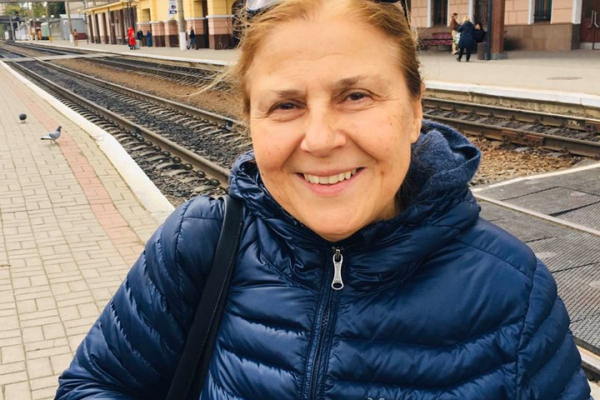 Невістка Степана Бандери вперше приїхала до Тернополя (Фото)