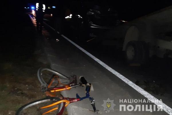На Тернопільщині загинув 30-річний велосипедист