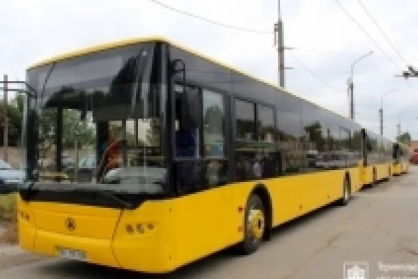 У Тернополі поповнився склад транспортних засобів