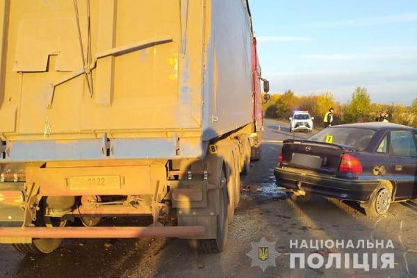 На Тернопільщині загинув шістнадцятирічний водій