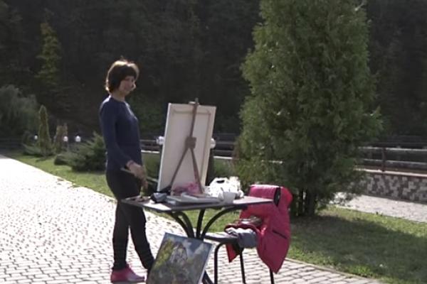 На Тернопілля завітали митці з різних куточків України, щоб відтворити красу області