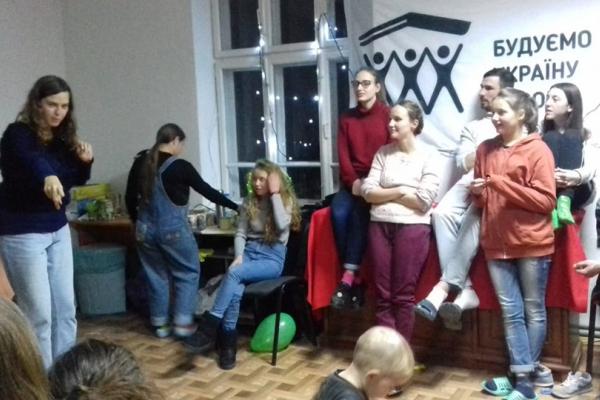 Волонтери «Будуємо Україну Разом» відбудовують геріатричний центр у Бережанах