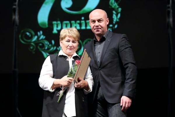 Тернопільська школа відзначила своє 75-річчя