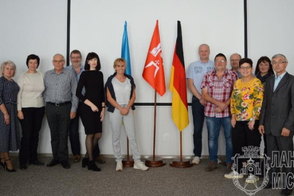 Делегація з Німеччини завітала у Лановецьку ОТГ