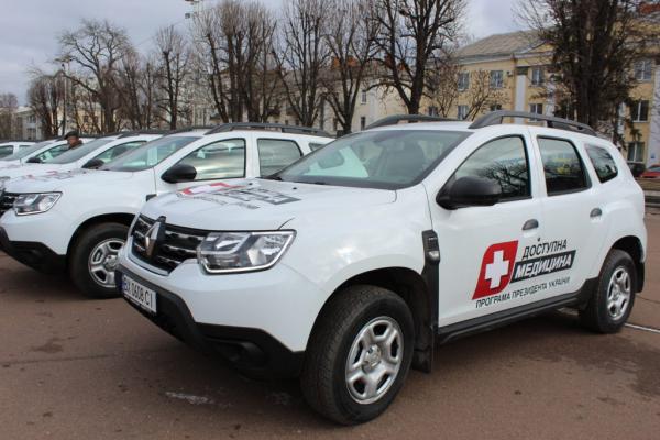 У Тернополі придбали нові автомобілі для амбулаторій