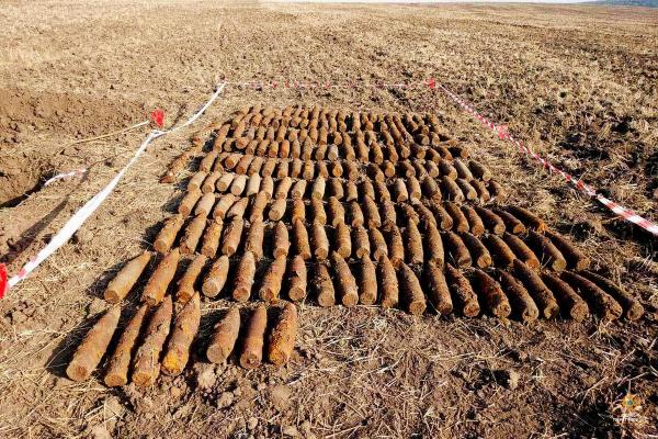 В одному із сіл Теребовлянського району – надзвичайна ситуація: знайшли 229 застарілих боєприпасів