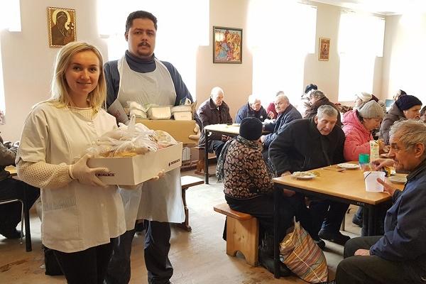 Благодійній їдальні Тернопільського «Карітасу» - 20 років