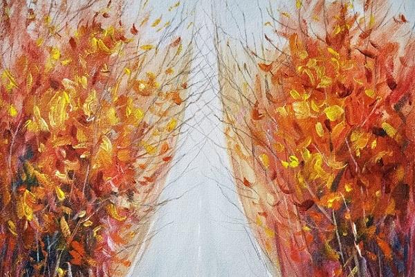 Славетний художник з Бережан Олег Шупляк у Франції написав нову картину-двовзор, зобразивши Ейфелеву вежу