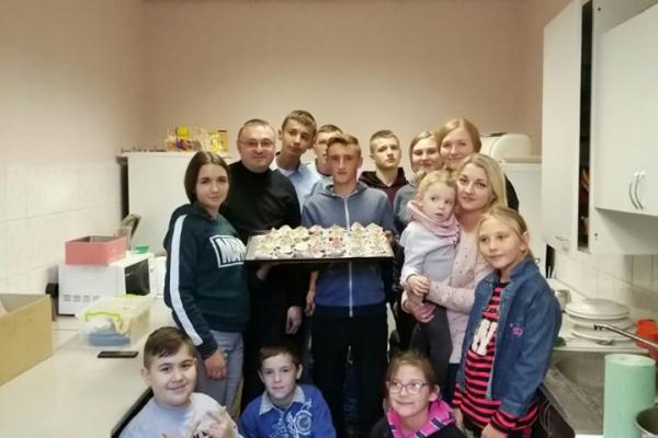 У Тернопільському «Карітасі» для дітей провели кулінарний майстер-клас
