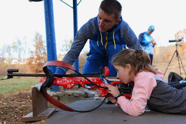 «Олімпійський урок»: Тернопільський чемпіон світу провів майстер-клас