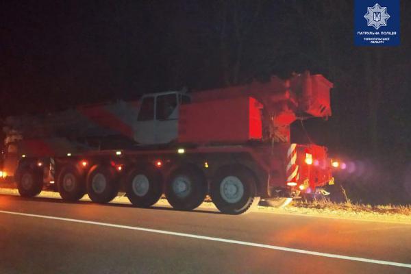 «Штраф у понад сто тисяч гривень»: на Тернопільщині затримали нелегальну вантажівку