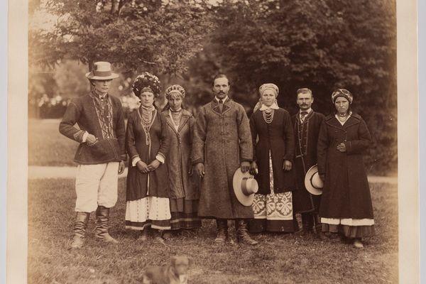 Українці Правобережжя: фото 1870-х років
