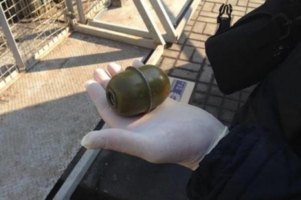 Тернополянин носив із собою гранату