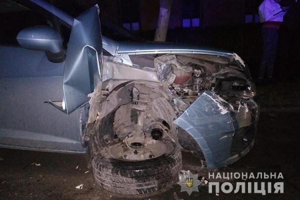 У Бережанах нетверезий водій спричинив ДТП