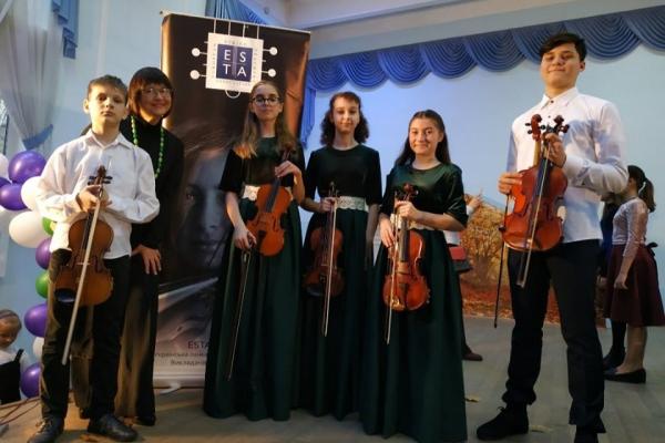 Юні скрипалі з Тернополя «засвітилися» на концерті в столиці