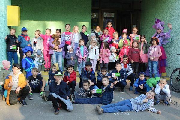 Тернопільські бібліотекарі влаштували фестиваль дитинства