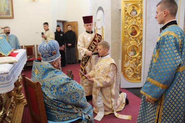 У Зарваниці на Тернопільщині висвятили нового священика
